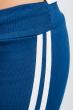 Брюки женские с лампасами 424F001 лазурно-синий