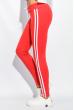 Брюки женские с лампасами 424F001 терракотовый