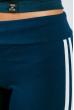 Брюки женские с лампасами 424F001 сине-белый