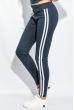 Брюки женские с лампасами 424F001 джинс