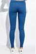 Брюки женские с лампасами 424F001 сине-сизый
