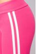 Брюки женские с лампасами 424F001 розовый
