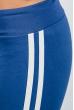 Брюки женские с лампасами 424F001 светло-синий