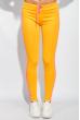 Брюки женские с лампасами 424F001 желто-розовый