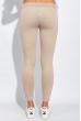 Брюки женские с лампасами 424F001 бежево-розовый
