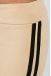 Брюки женские с лампасами 424F001 песочно-черный
