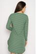 Платье-туника 631F002 зеленый