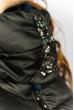 Куртка женская 127P002 черно-синий