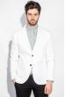 Пиджак мужской классический 197F027 белый