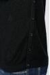 Джемпер мужской теплый, с принтом  620K002 черный