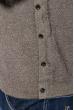 Джемпер мужской теплый, с принтом  620K002 фисташковый