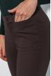 Брюки женские средний клеш 289V001 коричневый