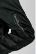 Бомбер женский однотонный 292V001 черный