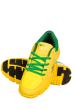 Кроссовки женские 160P8397 желто-зеленый