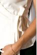 Жилет женский 118P169 молочный