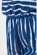 Комбинезон женский 121P006 сине-белый