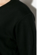 Свитшот женский с рисунком 334V001 черный