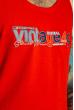 Майка Vintage 49 85F436 красный
