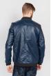 Куртка мужская классика экокожа 636K001 темно-синий