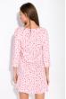 Ночная женская сорочка 107P13-2 розовый принт