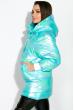 Куртка женская с перламутровым оттенком 120PSKL1960 голубой