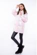Куртка женская с перламутровым оттенком 120PSKL1960 бледно-розовый