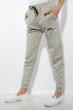 Брюки спортивные женские с манжетами 85F10152 светло-серый