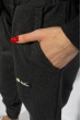 Брюки спортивные женские с манжетами 85F10152 графит