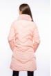 Куртка с меховым воротником 120PSKL6809 персиковый
