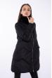 Куртка с меховым воротником 120PSKL6809 черный