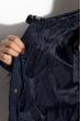 Женская куртка с перьями 120PSKL2269 индиго