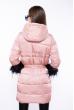 Женская куртка с перьями 120PSKL2269 розовый