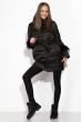 Женская куртка с перьями 120PSKL2269 черный