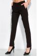 Костюм с ассиметричным пиджаком 120PMA1827 черный