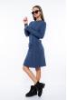 Платье вязаное 120PRZGR775-1 джинс