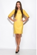 Платье 110P177-2 желтый