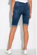 Джинсовые шорты с подкатами 120PTNL2059 синий