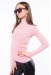 Гольф женский базовый 162P046 светло-розовый