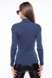 Гольф женский базовый 162P046 темно-синий