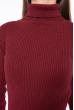 Гольф женский базовый 162P046 бордовый