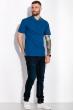 Однотонное мужское поло 120PELL410 джинс