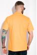 Однотонное мужское поло 120PELL410 желтый