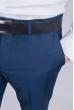 Брюки мужские классические №81F004 темно-синий