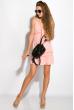 Платье на тонких бретелях 103P005 розовый