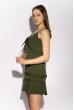 Платье на тонких бретелях 103P005 хаки