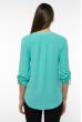 Блуза женская однотонная 121P015 бирюзовый