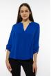 Блуза женская однотонная 121P015 индиго