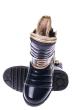 Ботинки лаковые 120PJA9565-1 junior темно-синий
