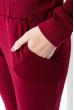Костюм женский, стильный  95P4001 бордо