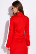 Костюм женский с разрезами на рукаве 120PALL1123 красно-белый